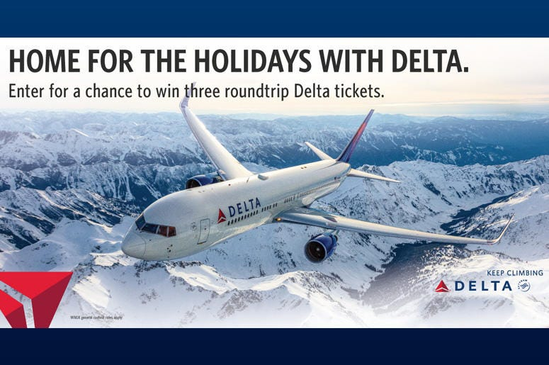 Delta Home for the Holidays