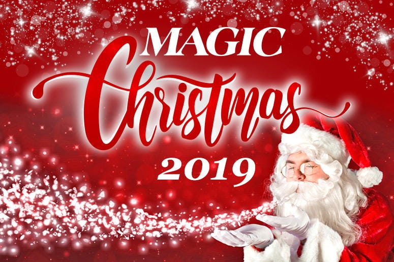 MAGIC Christmas 2019 Santa