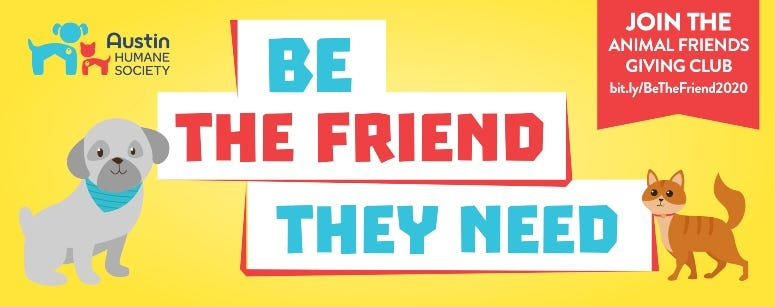 Be The Friend Giver Club