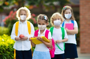 grade school age children