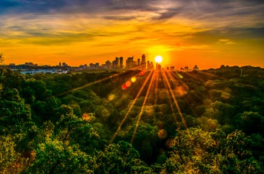 asuitn texas sunset