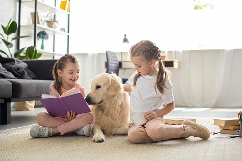 Having a Dog Around Makes Kids Better at Reading