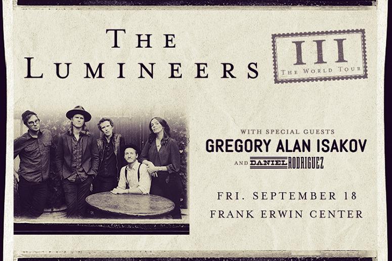 The Lumineers - The III World Tour - Frank Erwin Center