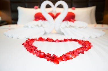 A Hotel Offers 18 Years of Free Valentine's Day Stays . . .