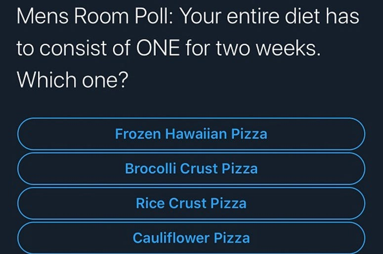 Pick a Pizza for your pleasure