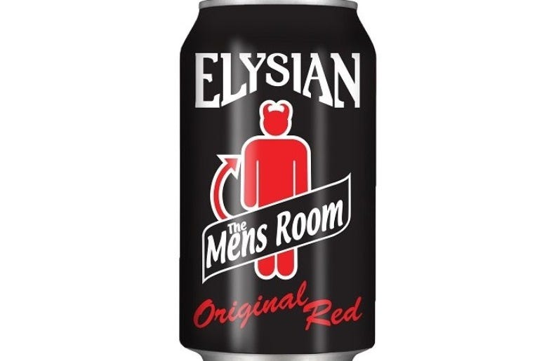 Mens Room Original Red
