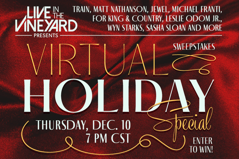 Live in the vineyard Holiday Special 2020