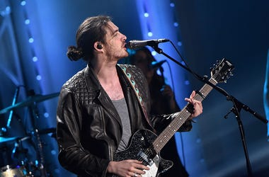 Singer Hozier performs onstage during the VH1 Big Music in 2015