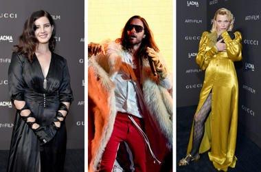 Lana Del Rey, Jared Leto, Courtney Love