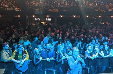 Pre-COVID-19 ACL Live Merry Mix Show crowd 2019