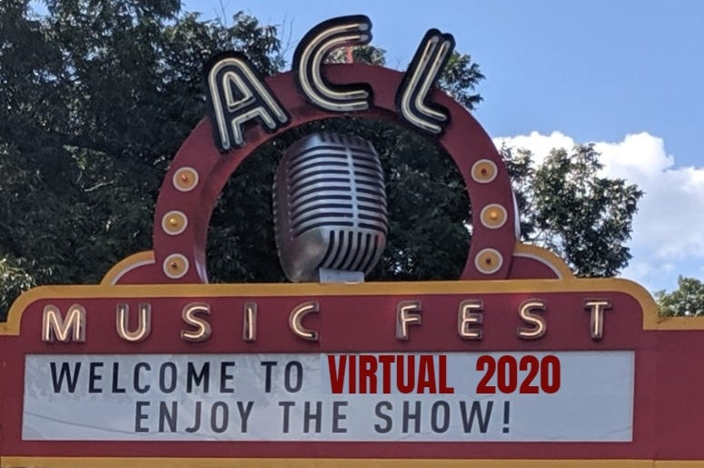 ACL Music Festival Zilker Park Sign / Photo by HR 2019