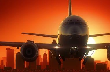 Austin Airplane take off