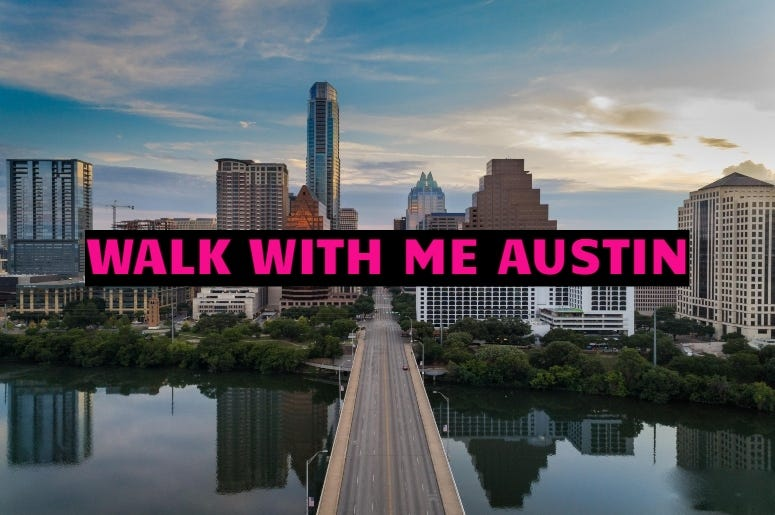 Brian Hellemn Getty images  Walk with me austin