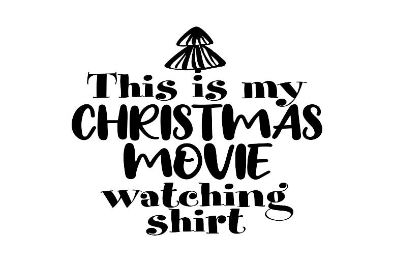 Christmas Movie Watching Shirt