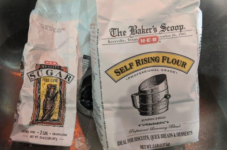 flour & sugar