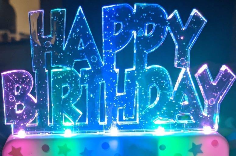 Happy Birthday HR