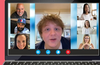 Virtual Vibe Session with Lewis Capaldi