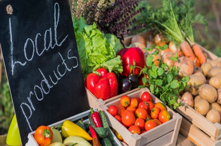 local farmers market Getty Images