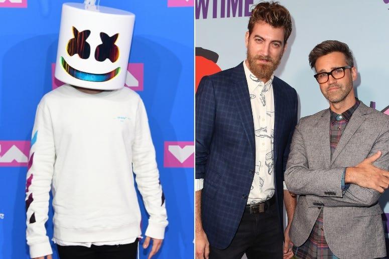 Marshmello And Rhett And Link