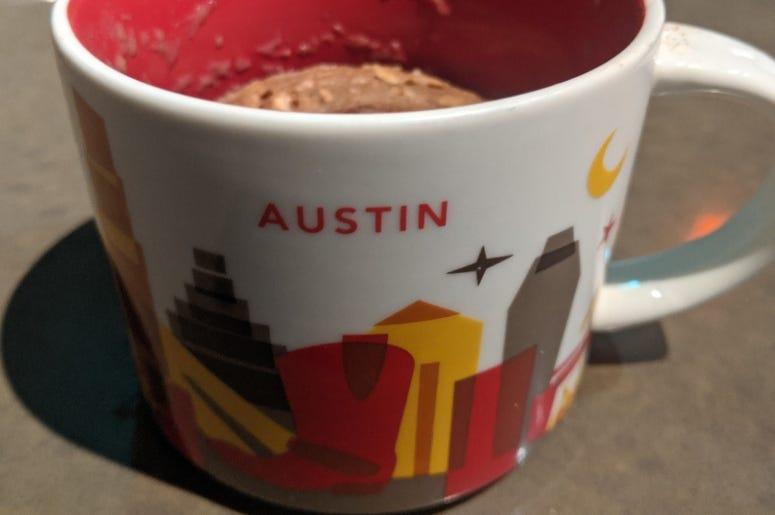 Oatcake in a Mug