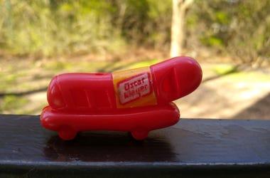 vintage Oscar Mayer Weenie Whistle