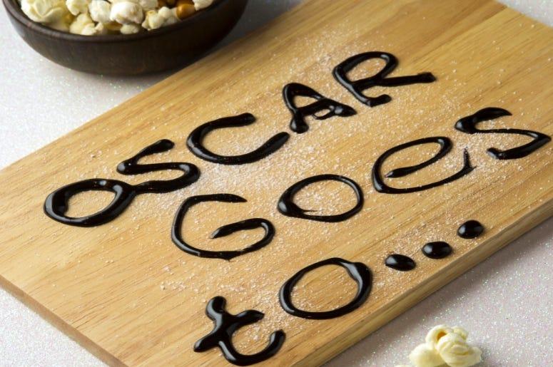 Oscar goes too food