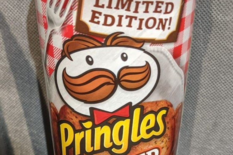 Pringles Roasted Turkey Can - photo by HR 2019