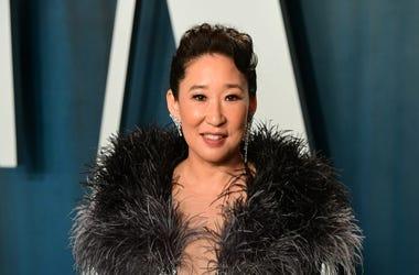 Sandra Oh Vanity Fair Oscars Party 2/10/20