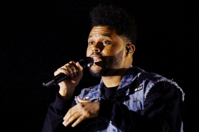 The Weeknd 16th annual Bonnaroo © Shelley Mays / The Tennessean via Imagn Content Services, LLC