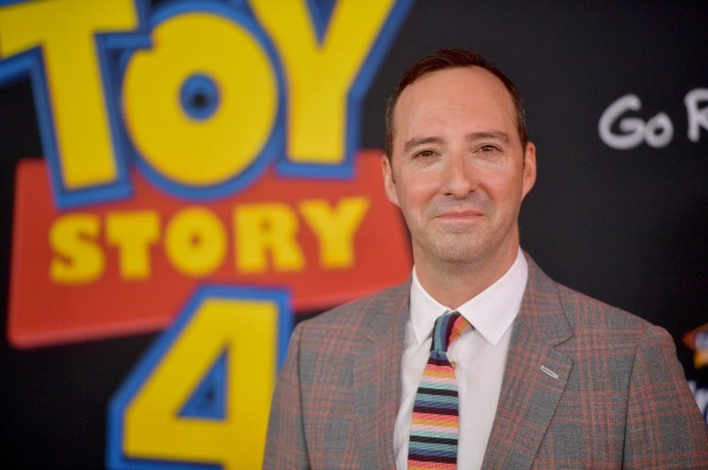"Tony Hale attends the premiere of Disney and Pixar's ""Toy Story 4"""