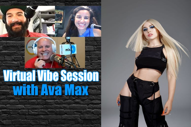 Virtual Vibe Session-Ava-Max