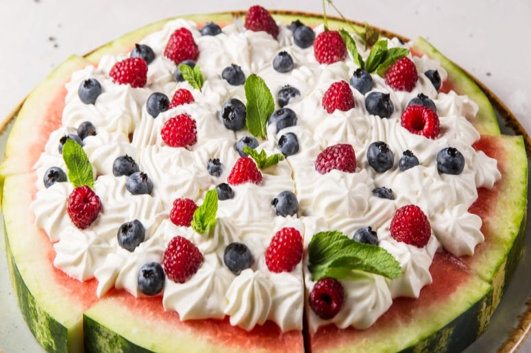 Watermelon Pizza / Getty Images