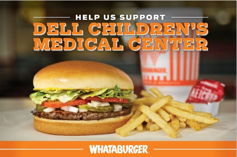 Whataburger Holiday Fundraiser 2020