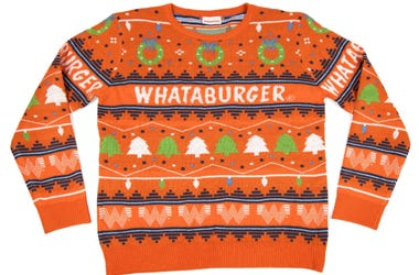 Whataburger Christmas Sweater 2020