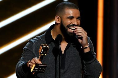 Recording artist Drake accepts the Top Billboard 200 Album award for 'Views' onstage during the 2017 Billboard Music Awards at T-Mobile Arena on May 21, 2017 in Las Vegas, Nevada.