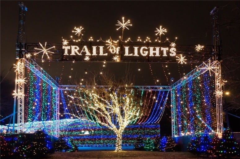 photo credit: Seymore Lacey Trail of Lights 2019