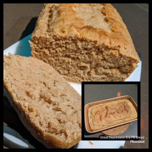 Great Depression -Era Peanut Butter Bread