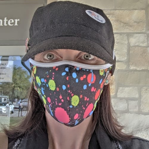 Heather SW ATX - I Voted 10/13/20