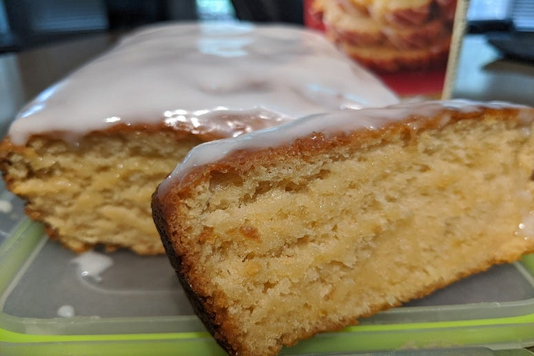 Lemon Pound Cake Bread