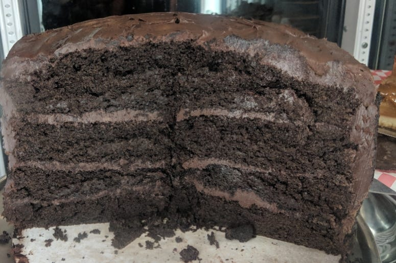 LuLu's Chocolate Cake