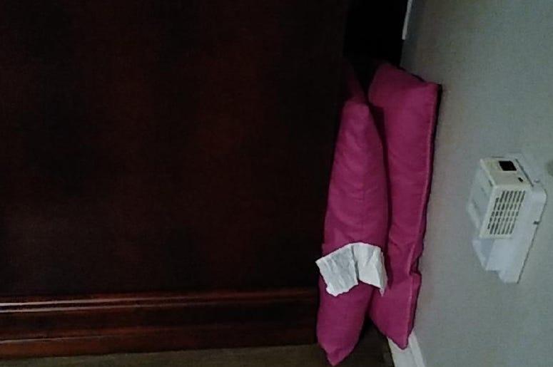 Pink Pillow Save