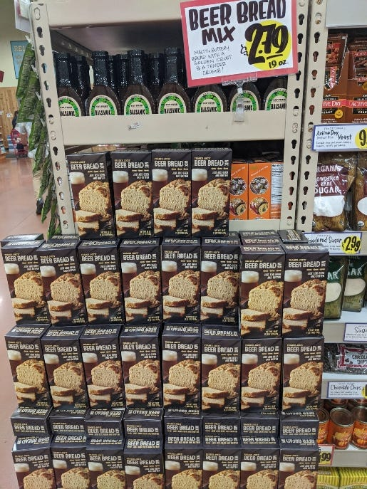 Trader Joe's Beer Bread Mix is Back