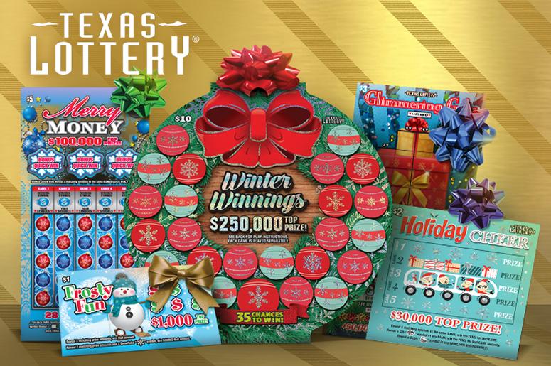 Texas Lottery Scratch Tickets