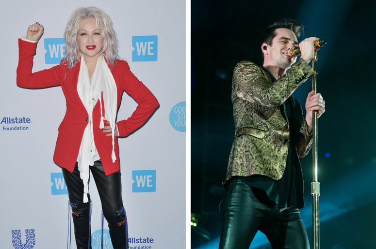 Cyndi Lauper and Panic! At The Disco