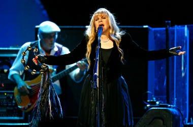 Fleetwood Mac's Stevie Nicks and bassist John McVie perform May 30, 2013