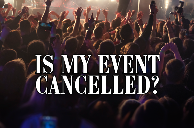 Events cancelled flipper