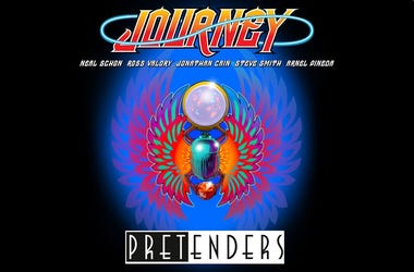 Journey and Pretenders Artwork
