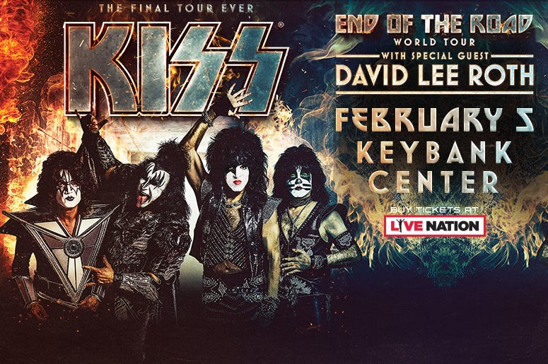 Kiss and David Lee Roth artwork