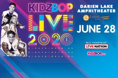 Kidz Bop 2020 artwork