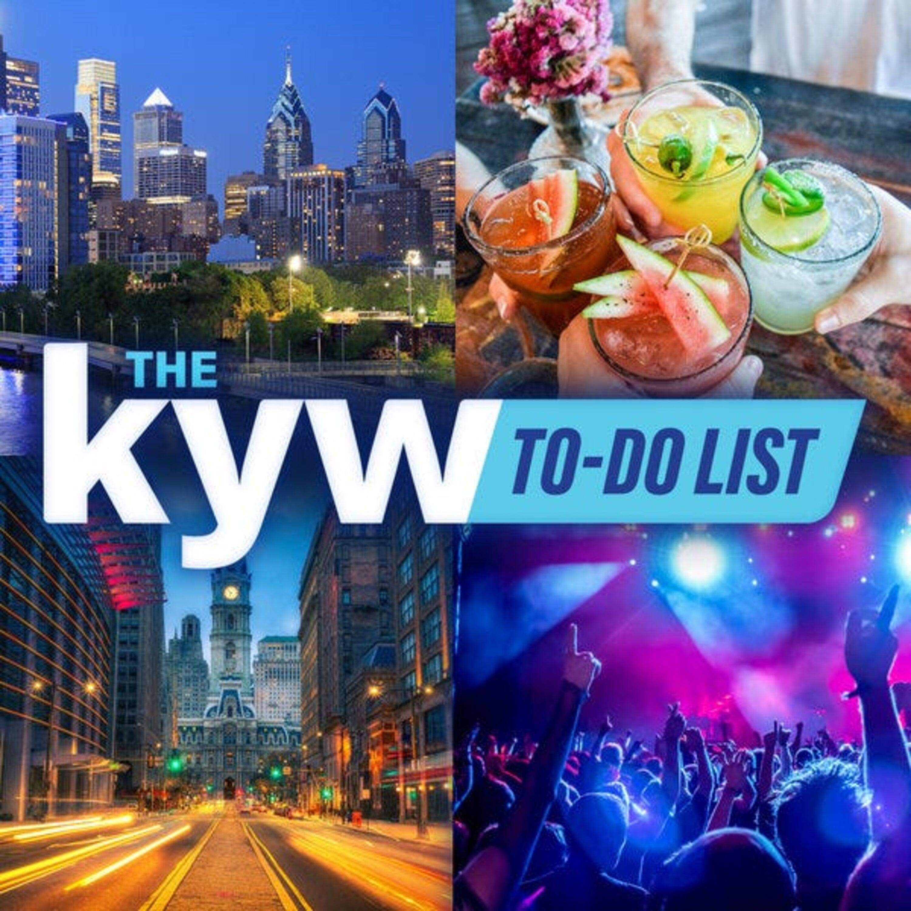 The KYW Newsradio To-Do List